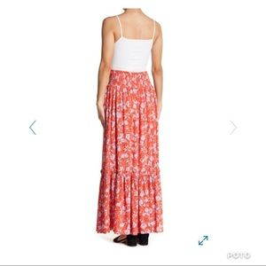 2ef7a191ed Free People Skirts - Free People Way Of The Wind Printed Maxi Skirt